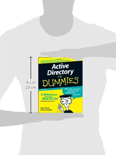 Active Directory For Dummies: Amazon.co.uk: Steve Clines, Marcia ...