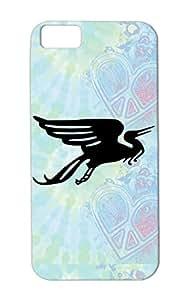 Crane Phoenix Birds Birds Bird Griffin Animals Nature Migratory Case For Iphone 5c Black