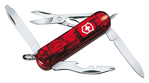 - Victorinox Swiss Army Midnite Manager Pocket Knife, Ruby