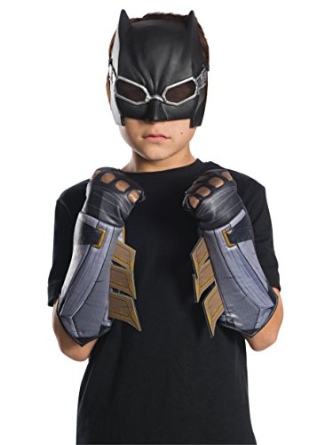 (Rubie's Costume Boys Justice League Tactical Batman Gauntlets Costume, One Size)