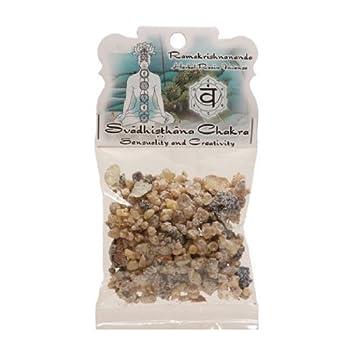 Svadhisthana Chakra - Sensuality and Creativity 1 2oz Bag Ramakrishnananda  Herbal Resin Incense