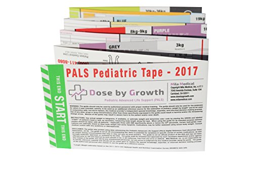 Dose by Growth Pediatric Advanced Life Support (PALS) Emergency Length-Based Tape (Broselow Compatible) by Dose By Growth