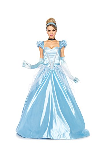 2017 Leg Avenue Disney 3Pc. Classic Cinderella Costume