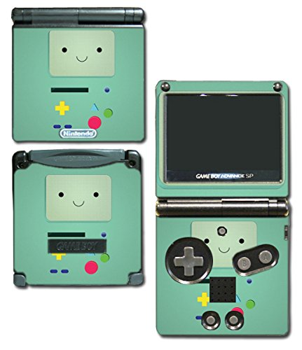 BMO Beemo Adventure Time Game Boy Controller Video Game Vinyl Decal Skin Sticker Cover for Nintendo GBA SP Gameboy Advance System (Gameboy Advance Sp Controller compare prices)
