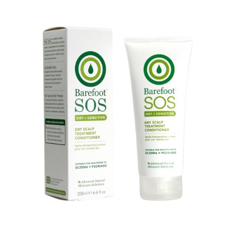 Босиком Botanicals SOS Интенсивный уход сухой кожи головы Кондиционер 200мл
