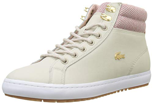 nat Beige Insulatec3182 Caw Zapatillas Straightset Para wht Mujer 7f8 Lacoste w01vY