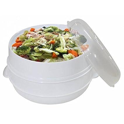Cocina Al Vapor En Microondas | Jpwonline Cocina Al Vapor Para Microondas Bn 5467 Amazon Es Hogar