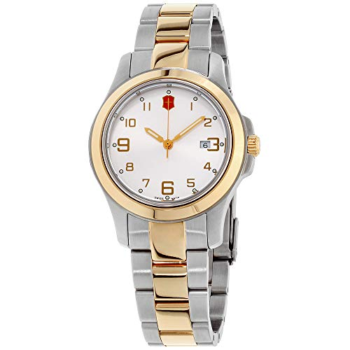 Victorinox Garrison Elegance Silver Dial Stainless Steel Ladies Watch 26062CB