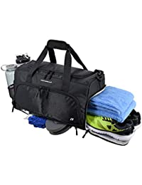 Ultimate Gym Bag 2.0  The Durable Crowdsource Designed Duffel Bag with 10  Optimal Compartments Including cde7487f4d029