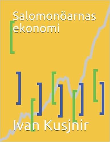 Salomonöarnas ekonomi