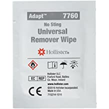 Hollister Adhesive & Barrier Remover Wipes, 50 (507760) Category: Ostomy Supplies