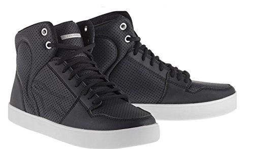 Alpinestars Anaheim Men's Street Motorcycle Shoes - Black/Gray / 8