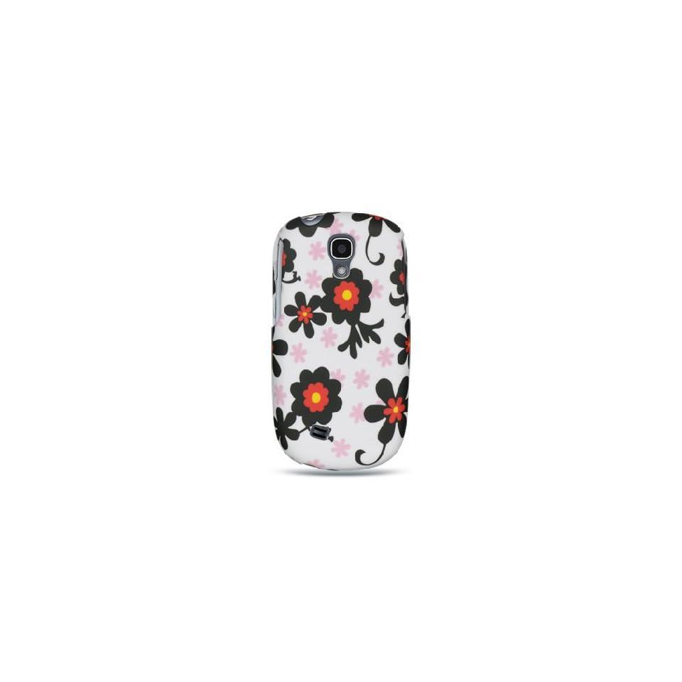 White Daisies Flower Hard Cover Case for Samsung Gravity SMART SGH T589