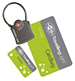 Sea To Summit Travelling Light TSA Travel Lock - Cardkey with Cable