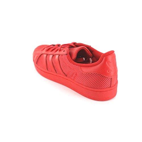 adidas Superstar, Zapatillas para Hombre, 38 EU Rojo