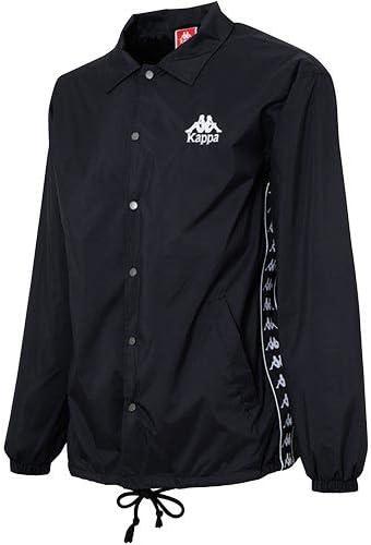 メンズ ウィンドジャケット BANDA ブラック KLA12WT01 BK