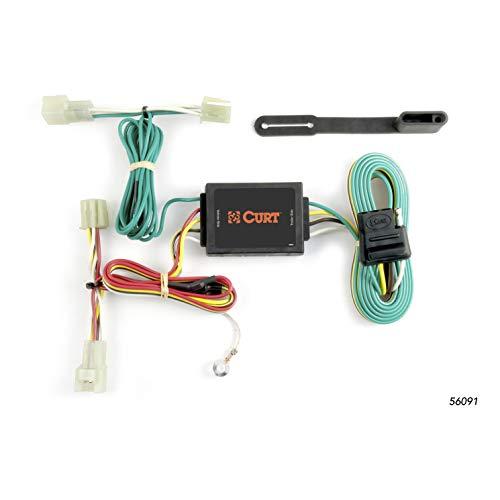 CURT 56091 Vehicle-Side Custom 4-Pin Trailer Wiring Harness for Select Subaru Legacy