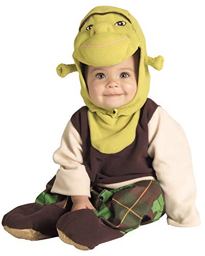 Shrek Infant Toddler Costumes - Shrek Romper And Headpiece Shrek, 6-12