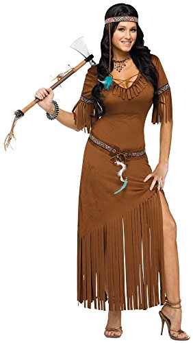 Indian Summer Native American Adult Costume (Md/Lg)