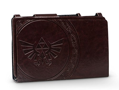 (PowerA Hybrid Cover - Zelda Hylian Crest Leatherette - Nintendo Switch)