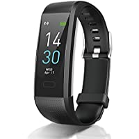 Fitness Tracker with Heart Rate Blood Pressure Blood Oxygen Sleep Monitor Temperature Monitor, Activity Tracker Smart…