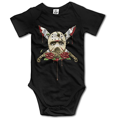 Price comparison product image Jason Voorhees Friday The 13th Baby Onesies Baby Gift