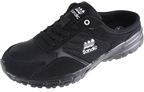 Sandic Herren Pantolette Sabot Clogs Sneaker SLIPPER-223 Schwarz