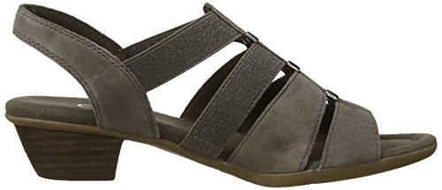 Gabor Shoes 22.472, Sandalias de Cuero, Mujer Grau (mineral)