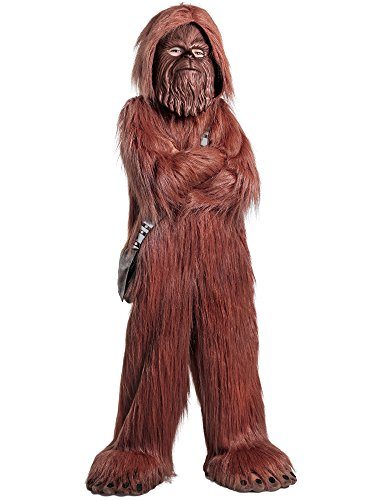 Princess Paradise Boys' Classic Star Wars Premium Chewbacca Jumpsuit, Brown, Medium