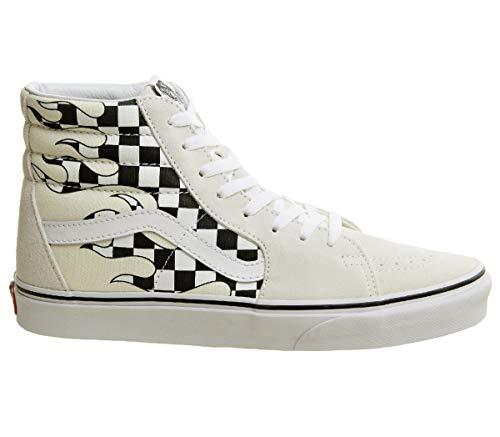 (Vans SK8-HI Men's Sneaker Womens Skateboarding-Shoes VN-A38GERX7_11M - Checker Flame/Checker Flame)