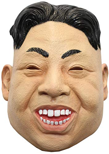 Ghoulish Productions Kim Jong-un Deluxe Full Mask Adult Size ()