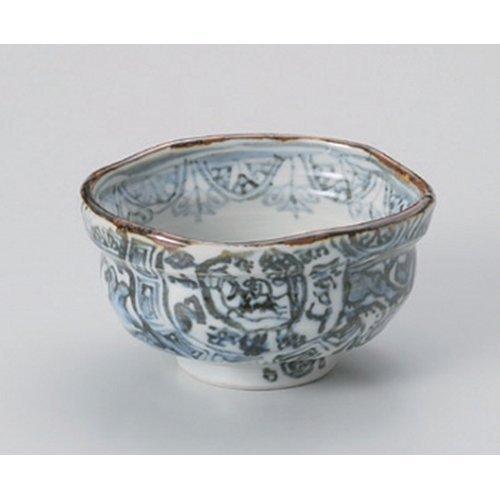 Matcha bowl xiangrui Fukura bowl [11.5 x 10.5 x 6.5cm] for strengthening Japanese instrument Liquor restaurant hotel business