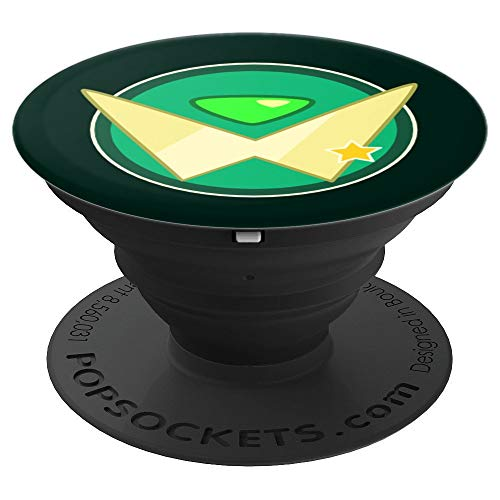 (Peridot Star Seal - Beautiful Universe Gem - PopSockets Grip and Stand for Phones and Tablets)