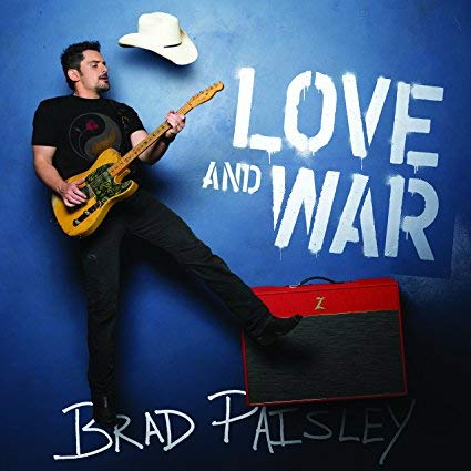 Brad Paisley Love and War Un-Signed Cd Album (Format: Audio CD) New NWT Unopened