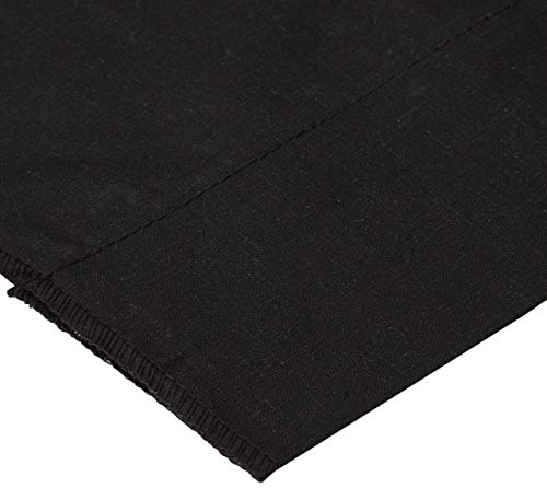 Richland Textiles Cotton Broadcloth Black Fabric By The Yard -