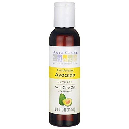 Aura Cacia Natural Skin Care Oil, Avocado, 4 Fluid Ounce