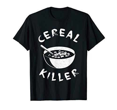 Cereal Killer T Shirt Birthday Gifts For Men Women Boys Girl ()