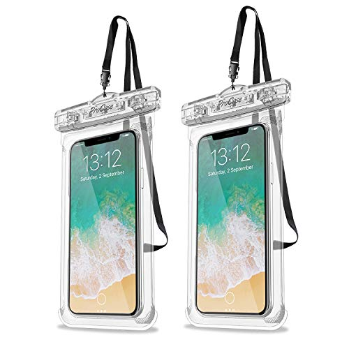 Procase Universal Waterproof Case Cellphone Dry Bag Pouch for iPhone 11 Pro Max Xs Max XR XS X 8 7 6S Plus