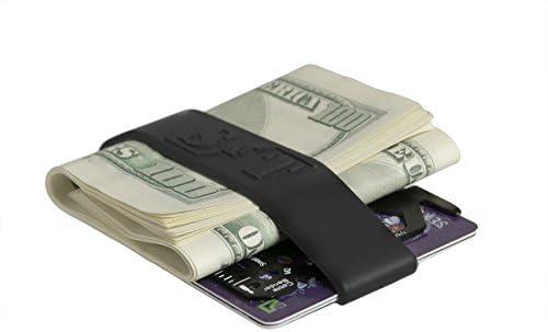 Set of 3 Money Bands Slim Credit Card Holder -... - Minimalist Wallet