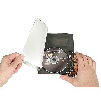 (DISCSOX DVD PRO POLY DVD SLEEVES- 25Pack)