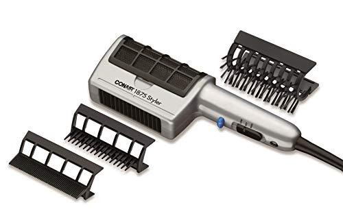 Conair 1875 Watt 3-in-1 Styling Hair Dryer; 3 Attachments to Detangle / Straighten / Volumize