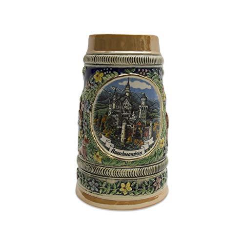 - Beer Stein Neuschwanstein Ludwig Castle Beer Mug by E.H.G | .55 Liter