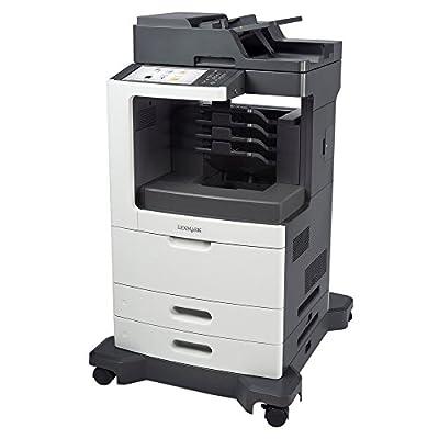 Lexmark 24TT473 MX812DME Laser Multifunction Printer - Monochrome - Plain Paper Print - Desktop - Copier/Fax/Printer/Scanner - 70 ppm Mono Print - 1200 x 1200 dpi Print - 70 cpm Mono Copy - Touchscreen - 600 dpi Optical Scan - Automatic Duplex Print - 120