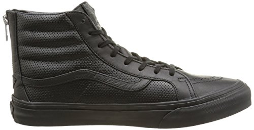 Black Perf Leather Zip Nero Perf Black Hi Unisex Leather Sneakers Vans U Slim Sk8 qYnwvO