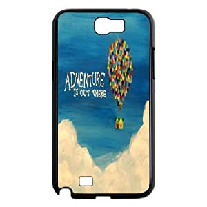 Samsung Galaxy Note 2 N7100 Phone Case Black Adventure Is Out There KG6380436