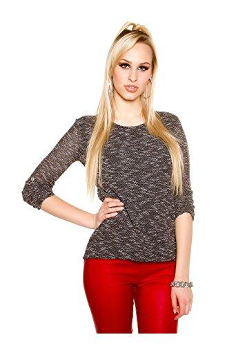 KouCla - Camiseta sin mangas - para mujer negro