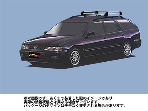 ルーフキャリア HR22 プリメーラワゴン / WP11 タフレック TUFREQ 精興工業 B06XZKVCJR