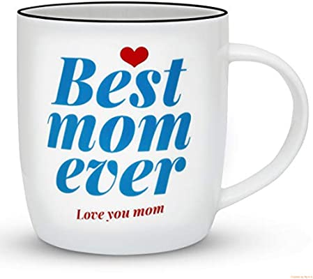 Gifffted Worlds Best Mom Ever Coffee Mug Great Birthday Gifts Ideas For From Daughter And Son Greatest Moms Presents Anniversary Gift Cups Christmas