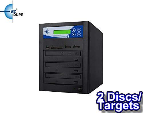 EZ DUPE Multi Media Mirror CD/DVD/Blu-Ray/SD/CF/MS/MMC/USB Duplicator (2 Discs/Targets) (CD/DVD)