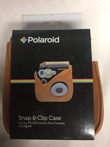 Polaroid Camera PIC 300 Instant Brown
